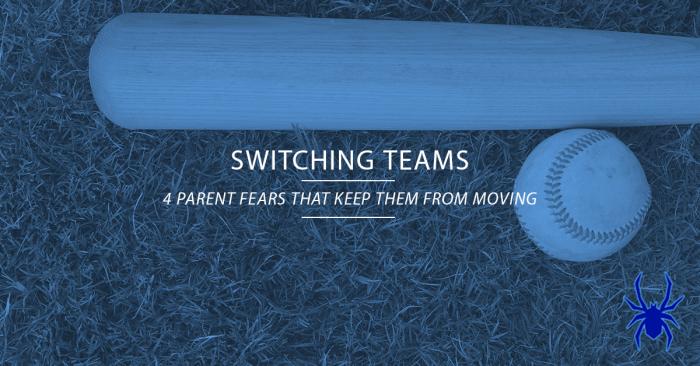 Switching Tournament Baseball Teams