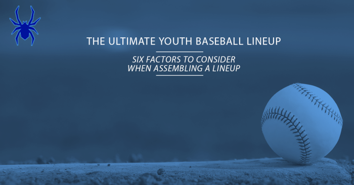 Ultimate Youth Baseball Lineup