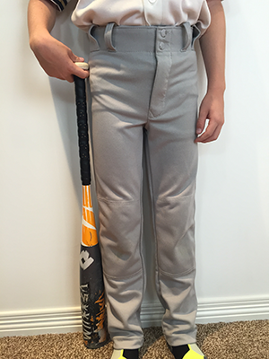 Baseball Bat Size Player Waist