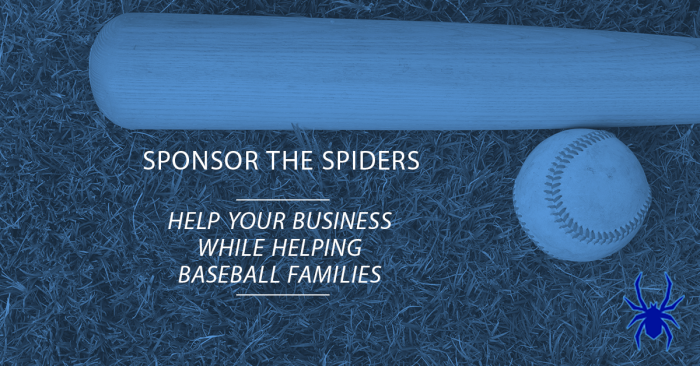 Sponsor the Spiders