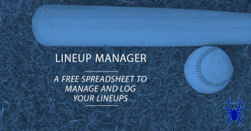 Youth Baseball Lineup Manager and Template