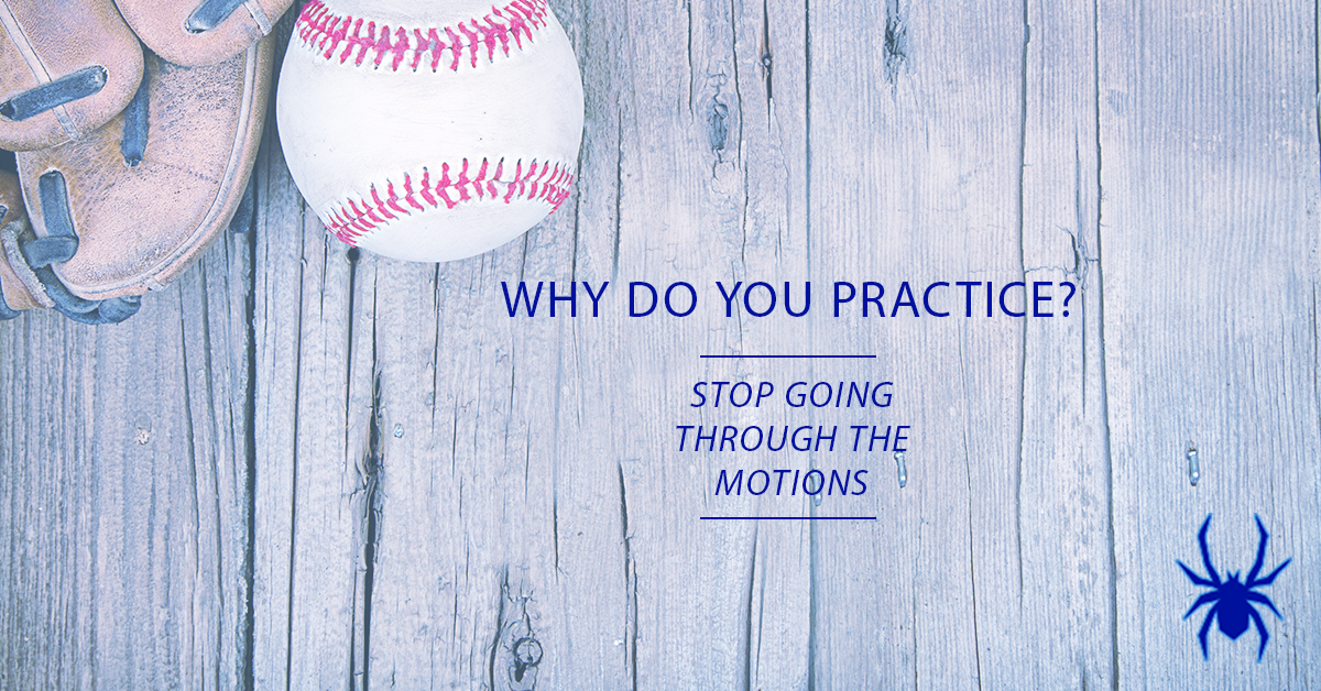 Why Do You Practice? - Spiders Elite